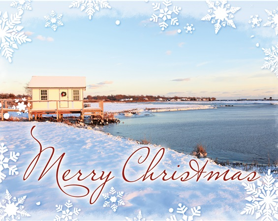 Crab's Shack , Orient Christmas Cards