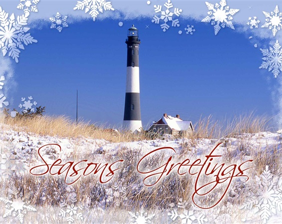 Fire Island Lighthouse Holiday Cards