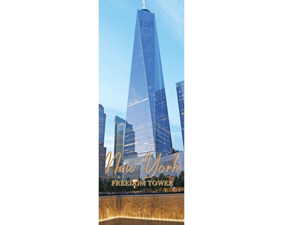 One World Trade Center Magnet  #1