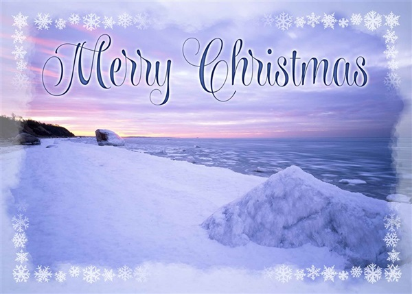 Long Island Sound Christmas Cards #1