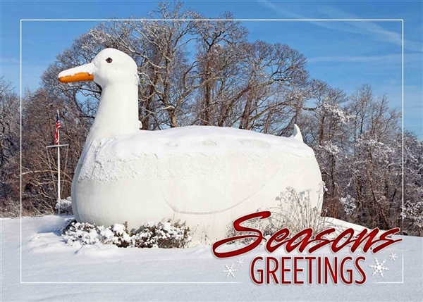 Big Duck Holiday Cards #1