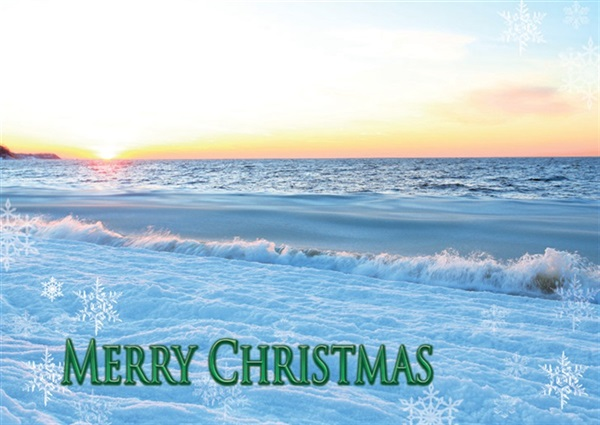 Long Island Sound, Peconic Christmas Card