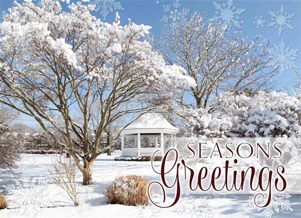 Village Green, Westhampton Holiday Cards