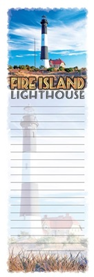 Fire Island Lighthouse Magnetic Notepad