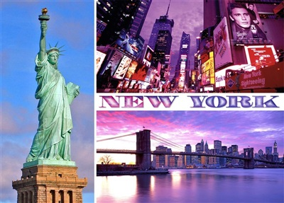 New York Multiview Magnet #7
