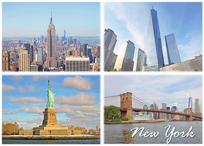 New York Multiview Magnet #10