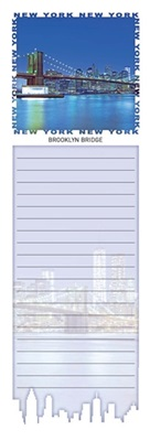 Brooklyn Bridge Magnetic Notepad