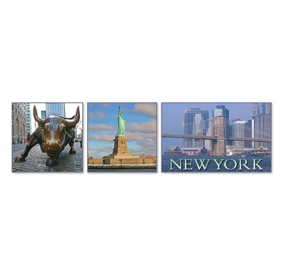New York Multiview #1 Magnet