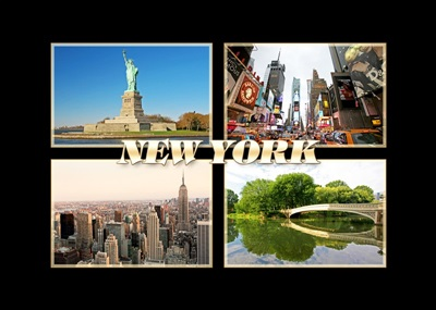 New York Multiview Magnet #8