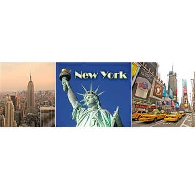 New York Multiview #2 Magnet