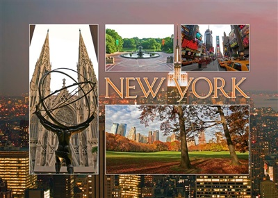 New York Multiview Magnet #6